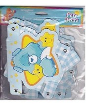 "Care Bears Boys 1st Happy Birthday 5"" Jointed Banner 1 Count Party Suppl... - $6.88"