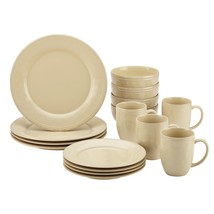 Rachael Ray Cucina 16-PC Dish  Set Almond Cream - $75.00
