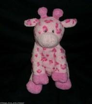 2006 Ty Pluffies Bambino Giraffa Rosa Tiptop Peluche Peluche Cucito Occhi - $44.06