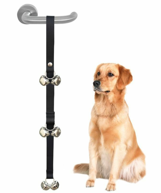 Primary image for Dog House Training Doorbell Potty Trainer Puppy Pets Bells Communicating Kit NEW