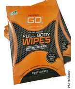 HyperGo Full Body Wipes, 13 Individually Wrapped Wipes, Unscented Giant ... - $17.36