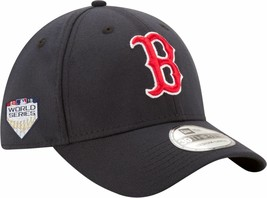 Boston Red Sox Mens New Era 2018 World Series 39THIRTY Flex Hat/Cap - NWT - $401,45 MXN