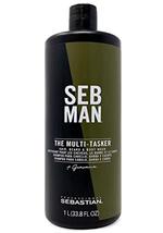 Sebastian Seb Man The Multi-Tasker, Beard, hair and body wash