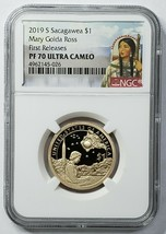 2019S Sacagawea $1 (Silver Reverse PROOF Set) PF70 Coin First Releases SKU C30