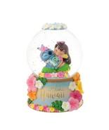Disney Store Japan 2018 Stitch Snow globe dome Figure Stitch Day Aloha h... - $266.31