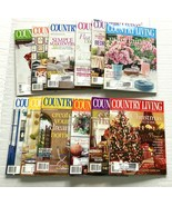2001 Country Living Magazine Lot of 12 Complete Year Including Christmas - $19.79