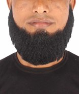 HPO Men's Synthetic Hair Full Beard Cosplay Facial Hair Multiple Colors - $19.85