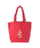 Disney Store Maison de FLEUR Minnie Mouse Tote Bag Red Minnie Dots Hand - $123.75