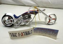 Patriot Phantasy Chopper Custom Motorcycle American USA Bike by Westland... - $24.70