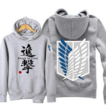 Attack on Titan Hoodies Unisex Padded Jacket Costume - $42.99