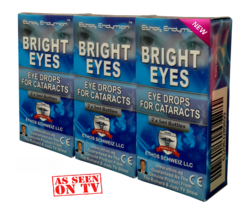 ** Ethos Bright eyes NAC Eye drops for Cataracts featured on UK TV, 3 Bo... - $230.00