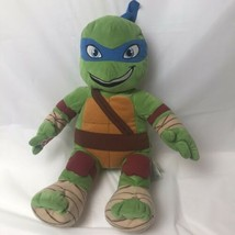 "Build A Bear Ninja Turtles Leonardo 18"" Plush Leo Turtle - $19.79"