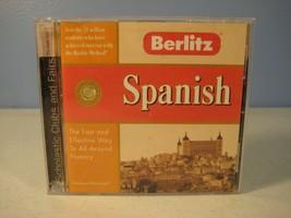 Berlitz Spanish Language Software CDROM for Windows 95, 98, Mac - $6.16