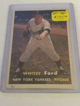 1957 Topps #25 Whitey Ford : New York Yankees - $75.95
