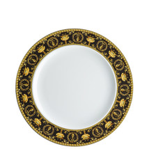 "Versace by Rosenthal Baroque Nero Black Plate 27 cm/10.6"" Set of 12 - $1,199.35"
