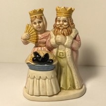JAPAN FIGURINE QUON NURSERY RHYME 1983 ONCE UPON TIME SING SONG SIXPENCE... - $24.75