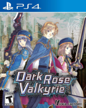 Dark Rose Valkyrie - PlayStation 4 BRAND NEW Factory Sealed Video Game F... - $36.13