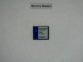 CITCF2GBJ 2GB Approved Compacto Flash-Simpletech