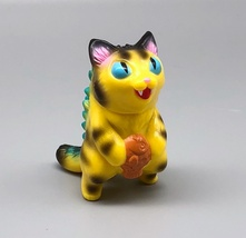 Max Toy Yellow Tiger Micro Negora - Blue Eyes image 1