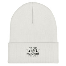 Dog Beanie Hat Gift Valentines Day Knit Logo Unisex Pet Winter Vintage - $18.82