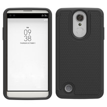 Dual Layer Defender Protective Case Cover for LG Aristo / K8 2017 LV3 - ... - $4.99