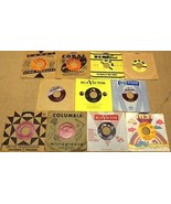 Bundle of 11 Miscellaneous 7in Vinyl Records Co... - $29.58
