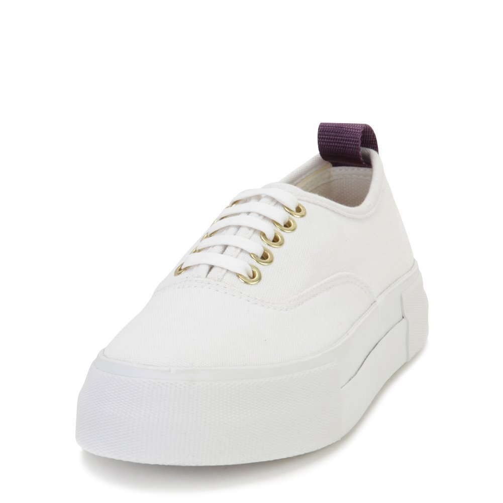 Eytys Unisex Fashion Sneakers MOTHERCANVAS White Size EU 42
