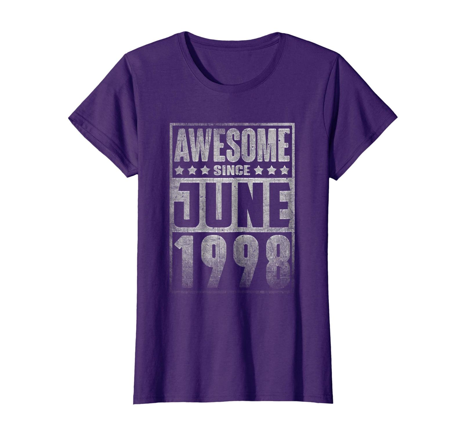 Uncle Shirts -   Awesome Since JUNE 1998 Straight Outta 20 Years Old Being Wowen image 4