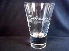 Starbucks Liqueurs double shot glass heavy base 4 oz Discontinued HTF - $8.75