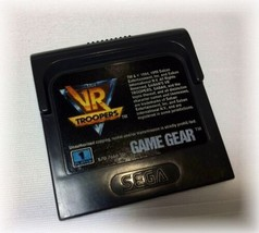 Saban's VR Troopers (Sega Game Gear, 1995) VIDEO GAME CARTRIDGE only vir... - $7.96