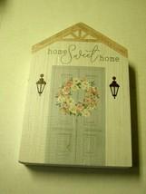 "P. Graham Dunn ""Home Sweet Home"" Plaque, 8"". Brand New - $15.99"