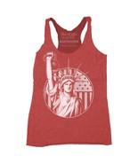 Red Gym Shirt-Corssfit Tank-Gym Tank Top-Women Workout Tank-Liberty-Size... - $48.00