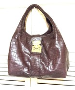 DKNY Hobo Brown Handbag Purse - $40.00