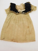 Antique Lined Dress for Medium Size Doll - $58.99