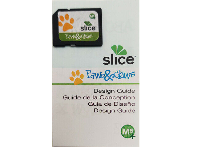 Slice Paws & Claws Design Card and Design Guide, Scrapbooking, Cards & More