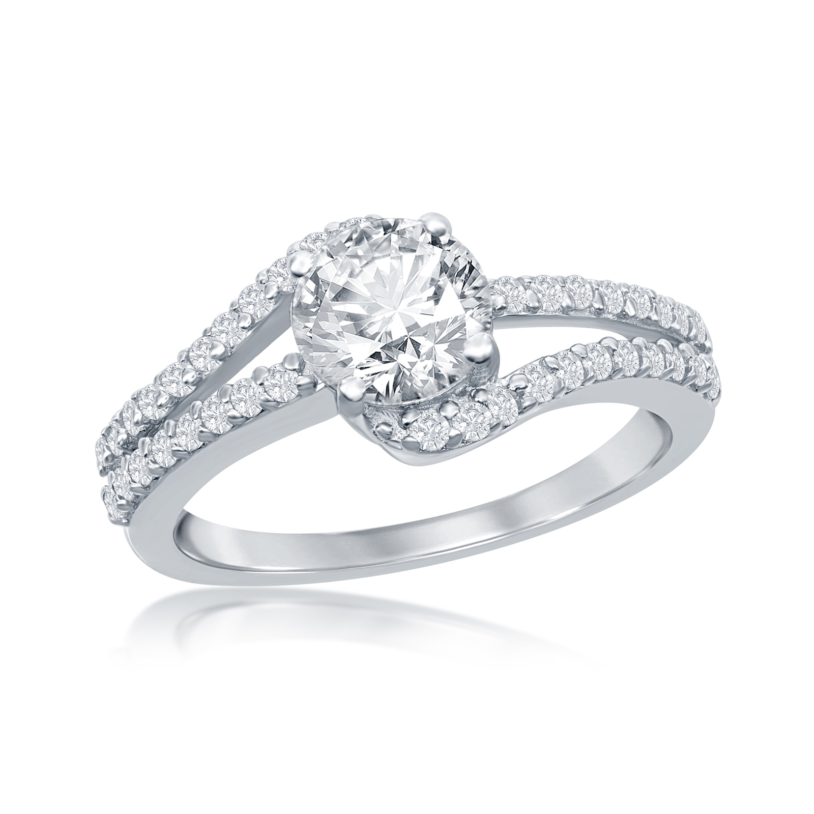 Primary image for  Women's .925 Silver Solitaire ring