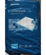 """Mckesson 23""""x36"""" Disposable Bed Under Pads Lite Weight Adult  Incontinence - $17.81"""
