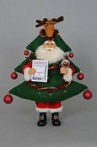 Karen Didion Santa Claus lighted Blitzen Christmas tree retired CC19-08 - $118.00