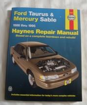 Haynes Ford Taurus Mercury Sable 1986-1995 Repair Manual - $9.89