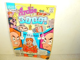 VINTAGE COMIC-ARCHIE COMICS- ARCHIE 3000 ! - # 13 DECEMBER 1989  -GOOD-L8 - $3.79