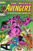 The Avengers Comic Book #244, Marvel Comics 1984 VERY FINE - $2.99