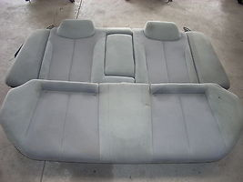 2005 NISSAN ALTIMA REAR SEAT GRAY WITH PATTERN