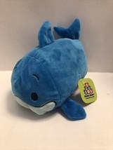 """Bun Bun Blue Shark Stacking Plush 7"""" 2017 Stuffed Animal Toy A12 - $9.99"""