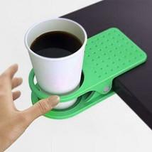 VKTECH Creative Holder Table Desk Side Clip Cup Saucer - £10.56 GBP