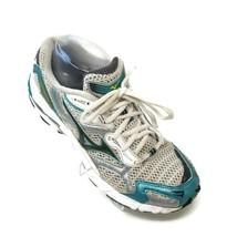 Mizuno Wave Inspire 4 White Green Running Shoes Womens Sz 8.5 M - $39.58