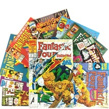 Fantastic Four Comic Book Lot 10 Issues Marvel VF NM Wolverine Black Panther - $19.75