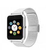 DMDG Bluetooth Smart Watch with Stainless Steel Strap, Camera, Call SMS ... - $31.93