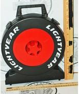 DISNEY PIXAR TIRE CARRYING TRAVEL PLASTIC CASE ... - $34.94