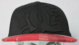 DC Shoes 210 Fitted Hat Cap Size 7-1/4 - 7-5/8 Large Embroidered Logo FL... - $22.76
