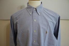 Ralph Lauren Mens Yarmouth Long Sleeve Oxford Dress Shirt size 16.5 34 - $19.79
